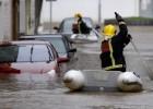 El temporal anega pueblos y obliga a rescatar familias en Galicia