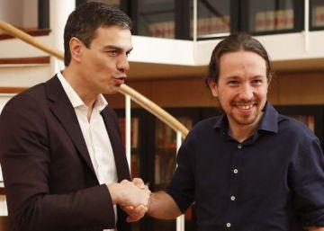 Iglesias renuncia a su vicepresidencia si el PSOE rompe con Rivera