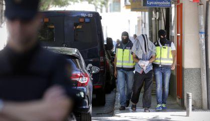 Operación antiyihadista en San Martín de la Vega (Madrid), en 2015.