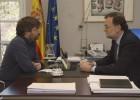 """Rajoy: """"No daré un paso al lado. Me encuentro con ganas"""""""