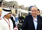 Juan Carlos I se reunió con el rey de Bahréin en una visita privada
