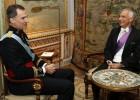 Felipe VI recibe a siete nuevos embajadores
