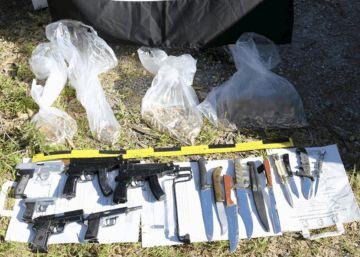 El zulo de Ceuta es el primer arsenal incautado en España al ISIS