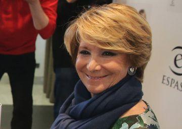 """Aguirre: """"No me parece mal el pacto PSOE-Ciudadanos"""""""