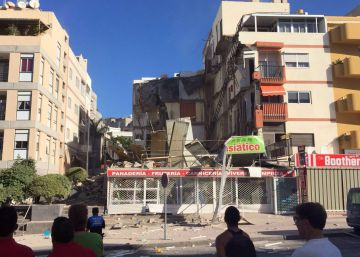 Two dead and five missing in Tenerife apartment collapse