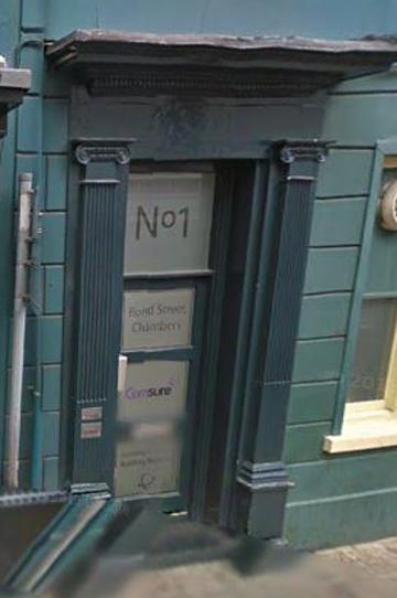 Imagen de la sede en Jersey de la empresa de Soria, de los dos sociedades que la crearon y de Canal Trust.