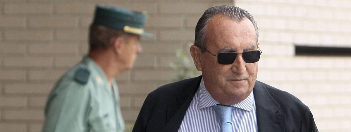 Carlos Fabra en la Audiencia Provincial de Castellón, el año pasado.