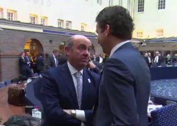 """""""Luis, ¿todo bien?"""" """"Bueno... vamos a elecciones"""""""