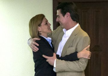 Cospedal y el PP canario arropan al exministro Soria en su despedida