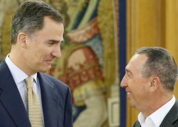 """El Rey agradece a Compromís el """"último intento"""" para un acuerdo"""