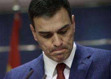 """Sánchez sentencia que hay elecciones al ganar """"el ala dura de Podemos"""""""