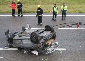 Los muertos en accidente de tráfico aumentan por cuarto mes seguido
