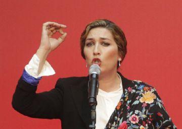 Estrella Morente reclama diálogo a los políticos