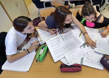Educación modifica también el examen de reválida en secundaria