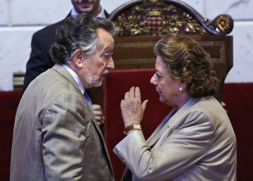 El juez bloquea la cuenta bancaria del PP en el Consistorio de Valencia