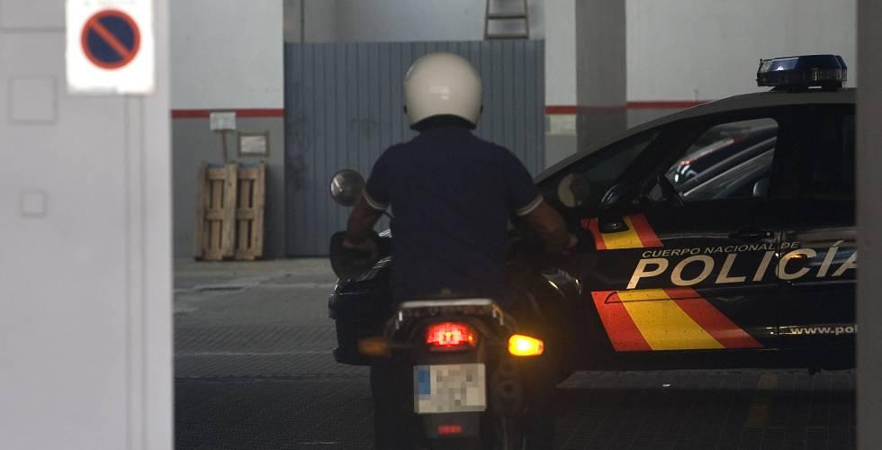 Imagen de archivo de un agente de la policía.