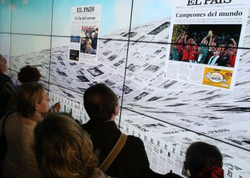 EL PAÍS celebrates its 40th anniversary