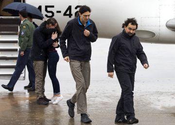 Llegan a España los periodistas liberados en Siria