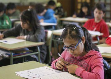 La prueba externa de primaria divide a las familias y a los colegios