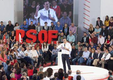 El PSOE afronta unido las elecciones del 26-J para cerrar el paso a Podemos