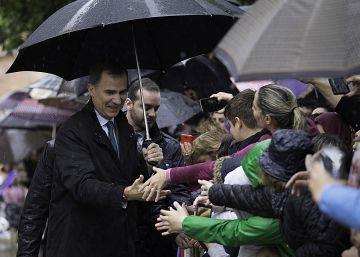 """""""Siempre que viene Felipe, llueve en Andalucía"""""""