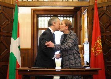 """Euskadi y Navarra se alían ante los """"ataques"""" del PP"""