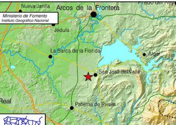 Un terremoto de magnitud 4,2 se siente en Cádiz y Sevilla