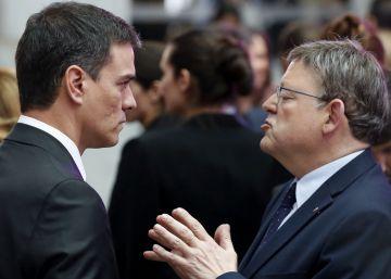 Ximo Puig niega que esté retando a Pedro Sánchez al negociar con Podemos