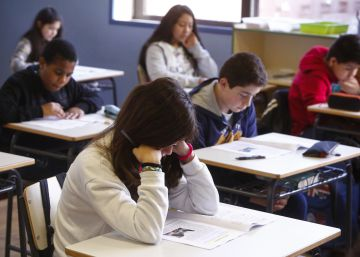 El 40% de los alumnos gallegos falta a la prueba de primaria de la LOMCE