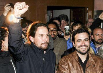Las bases de IU avalan por amplia mayoría la alianza con Podemos