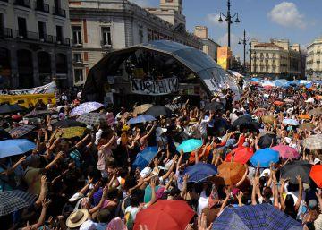 La Delegación del Gobierno multará a organizadores del aniversario del 15-M