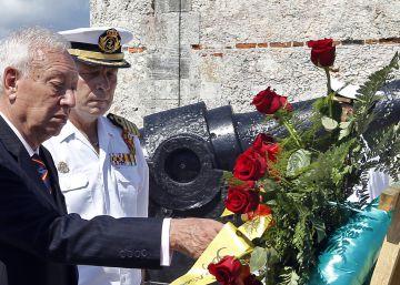 Raúl Castro recibe en La Habana a Margallo y Pastor