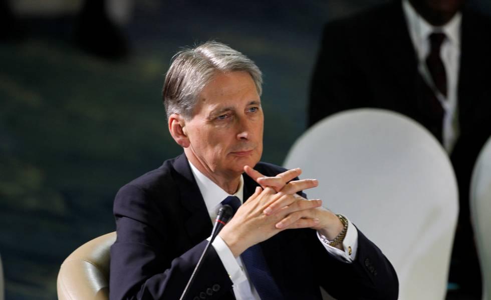 El ministro de Exteriores británico, Philip Hammond.