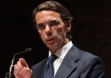 """Aznar reclama al líder del PP """"disciplina"""" y más recortes"""