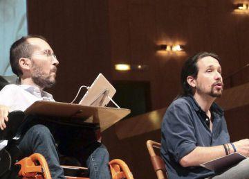Iglesias busca contener la imagen de radicalidad