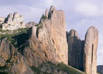 Muere un hombre tras caerle una piedra en la cabeza en Huesca