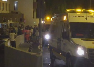Evacuados 200 pacientes de un hospital de Cádiz por un incendio