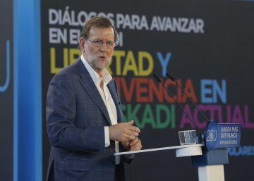 Mariano Rajoy, el sábado pasado.
