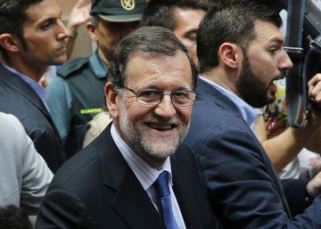 """Rajoy, recibido al grito de """"¡ladrón!"""" y """"¡presidente!"""""""
