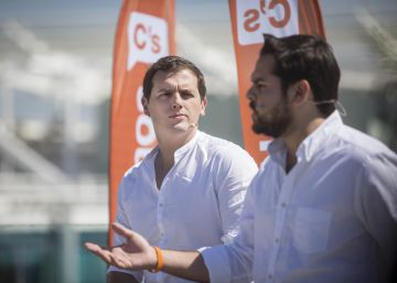 Albert Rivera el pasado 21 de mayo en un acto de Ciudadanos.