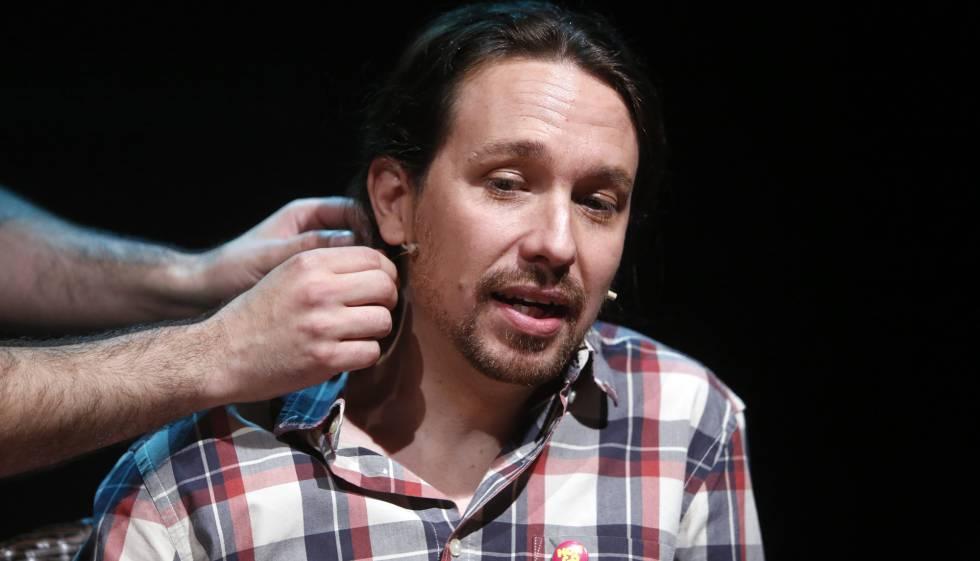 Pablo Iglesias, líder de Podemos, el martes en Madrid.