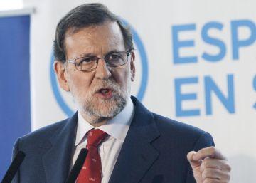 Rajoy critica que la campaña de sus adversarios sea ir en contra del PP