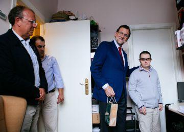El ictus de Chema y la visita de Rajoy