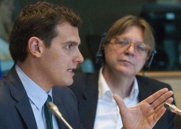 """Los liberales de la UE respaldan a Rivera para """"un cambio radical"""""""
