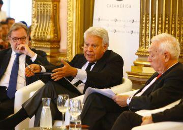 González y Margallo alertan sobre el riesgo de violencia en Caracas