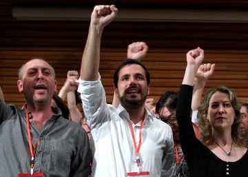 """Garzón, nuevo líder de IU: """"Damos miedo a quienes han saqueado este país"""""""