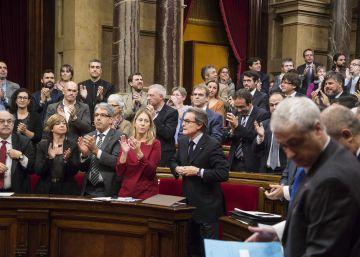 El Constitucional ampara al PP, Ciudadanos y PSC contra la declaración secesionista