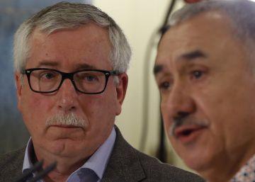 Solo el PSOE y Unidos Podemos acuden al acto electoral de UGT y CC OO