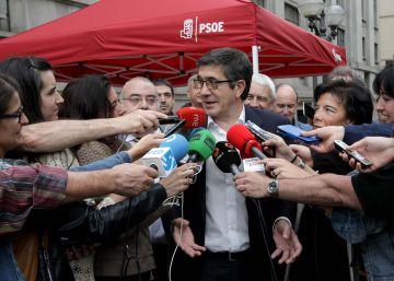 """Patxi López cree """"impresentable"""" el reparto de escaños que hace el CIS"""