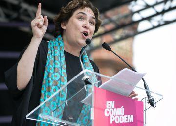 Colau y Carmena, escudo de Podemos y arma para el PP y Ciudadanos